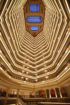 北京励骏酒店中庭