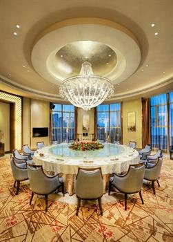 深圳友和国际大酒店中餐厅包房