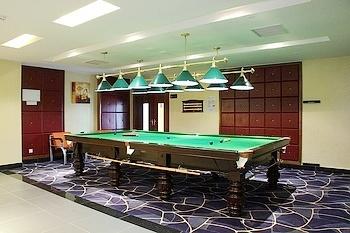 武汉碧桂园凤凰酒店桌球室