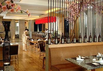 惠州康帝国际酒店自然风日本餐厅