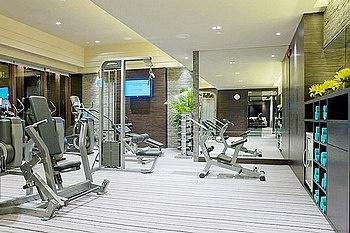 苏州吴宫泛太平洋酒店健身房/健身中心
