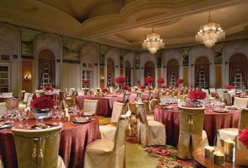 广州富力丽思卡尔顿酒店中式婚礼 宴会厅