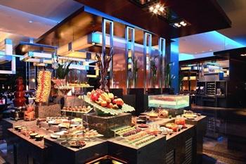上海华亭宾馆咖啡厅自助餐