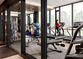 上海外滩英迪格酒店健身房