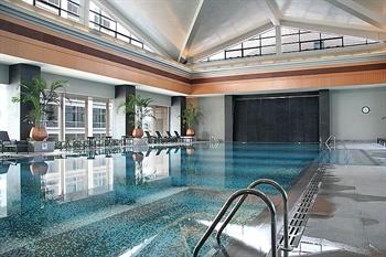 北京丽晶酒店游泳池