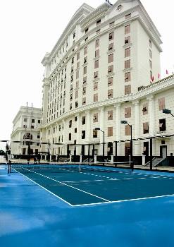 江西泰耐克国际大酒店(南昌)网球场