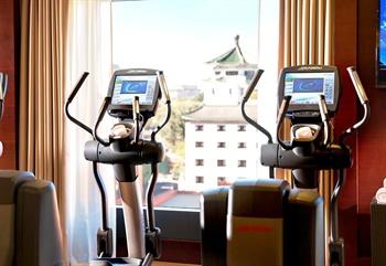 北京万豪行政公寓健身房