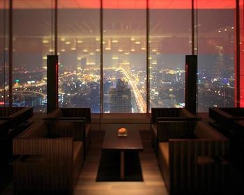 北京柏悦酒店大堂酒廊