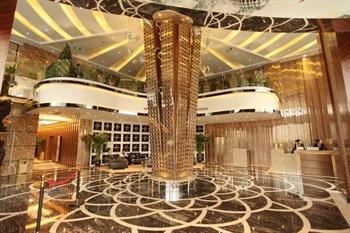 成都郦湾国际酒店大堂