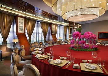 杭州洲际酒店中餐厅包间