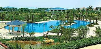 厦门海悦山庄酒店室外游泳池