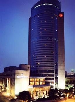 成都天府丽都喜来登饭店酒店外观-夜景图片