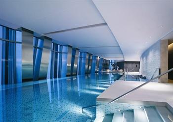 北京国贸大酒店游泳池