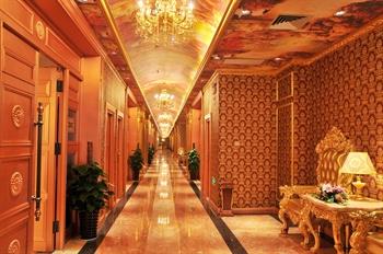 南宁迪拜七星酒店餐厅走廊