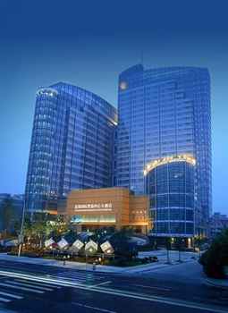 杭州富阳国际贸易中心大酒店酒店外观图片