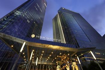 上海静安洲际酒店外观图片