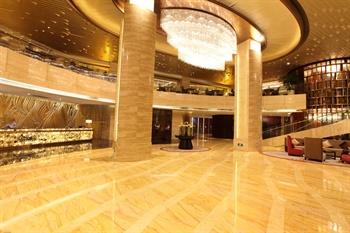 厦门明发国际大酒店大堂