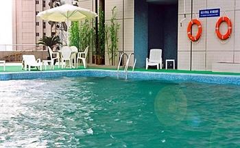 南京城市名人酒店游泳池