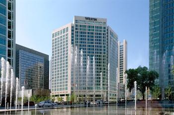 北京金融街威斯汀大酒店酒店外观图片