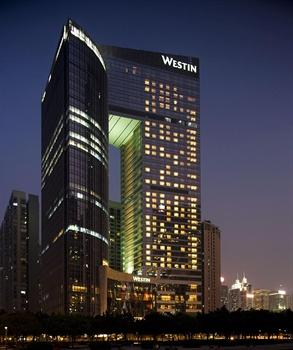 广州海航威斯汀酒店酒店外观图片