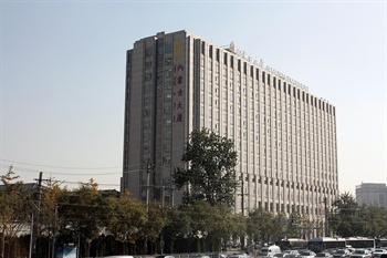 北京内蒙古大厦外观图片
