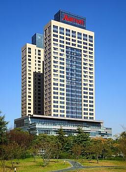 上海新发展亚太万豪酒店酒店外观图片