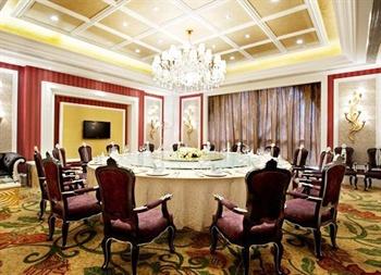 成都广都国际酒店中餐包间