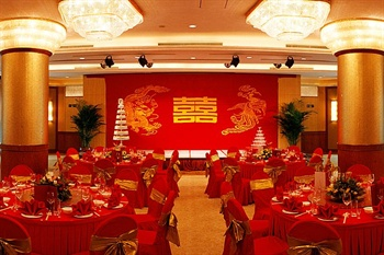 北京长安大饭店(陕西大厦)宴会厅-婚宴