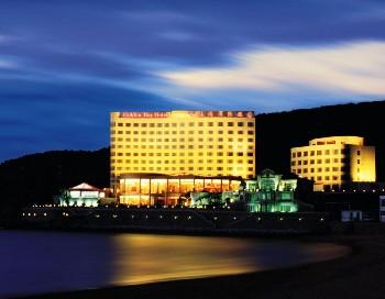 威海金海湾国际饭店外观图片