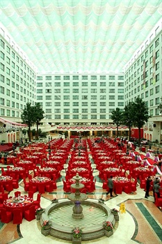 厦门翔鹭国际大酒店中庭花园