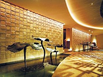 广州香格里拉大酒店水疗中心莲叶池