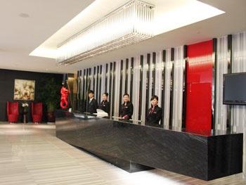 福州财富品位酒店接待台