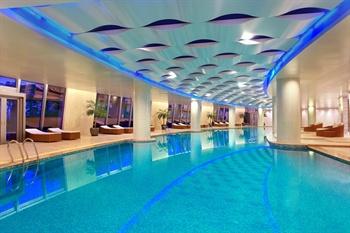 深圳大梅沙京基洲际度假酒店室内泳池