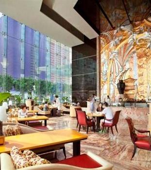 上海浦东丽思卡尔顿酒店咖啡厅