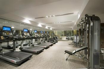 北京康莱德酒店健身房
