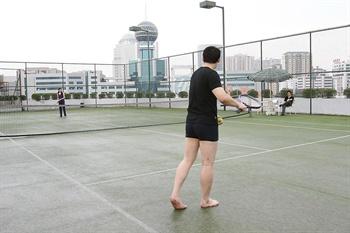 汕头金海湾大酒店网球场