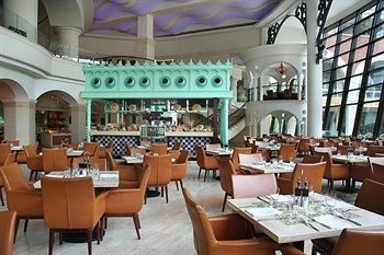 深圳华侨城洲际大酒店广场咖啡厅