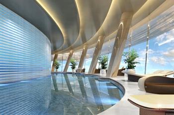 湖州喜来登温泉度假酒店室内游泳池