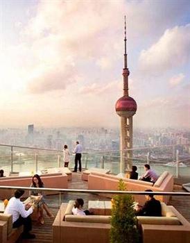 上海浦东丽思卡尔顿酒店顶层餐厅酒吧