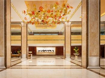北京万豪行政公寓大堂