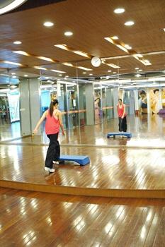 南京商茂国际酒店CTF健身中心