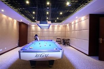 南昌东方豪景花园酒店康乐桌球室