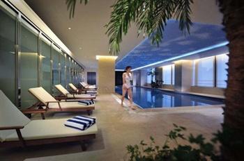 宁波富力索菲特大饭店游泳池