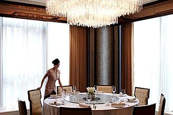 上海新发展亚太JW万豪酒店餐厅
