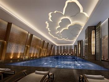 长沙富力万达文华酒店室内游泳池