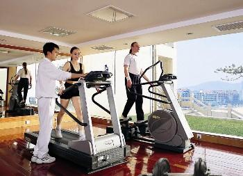 威海金海湾国际饭店健身中心