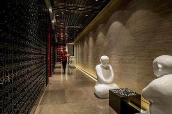 广州四季酒店愉粤轩中餐厅走廊