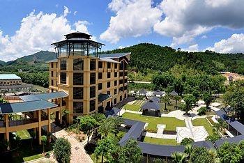 惠州龙门地派温泉度假酒店酒店外观图片