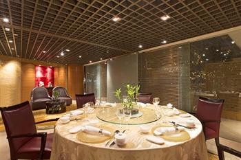 上海威斯汀大饭店水晶苑包房