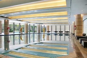 济南喜来登酒店室内游泳池